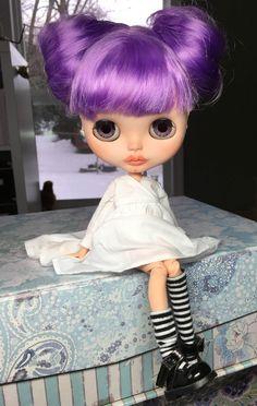 Custom Blythe Doll OOAK named Ahva by EmmyB.lythe by EmmyBlythe