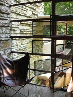 Fallingwater. Frank Lloyd Wright. 1936-1939, Bear Run, Pennsylvania.