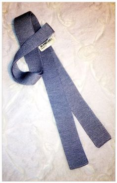 New Authentic Hermes Gray Silk Men's Skinny Knit Neck Tie. Perfect as Boyfriend or Father Gift. A VERY SOUGHT AFTER Tie!! Check it out at http://myworld.ebay.com/helloalamode/