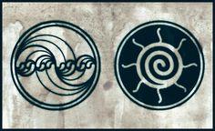 Water Fractal - Sun Spiral tattoo design by Poietix.deviantart.com on @deviantART