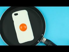 This teaches you how to make a silicone case to fit your phone!!    DIY | Fried Egg Phone Case Tutorial - Cover Uovo Fritto - YouTube