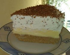Cake Recipes, Dessert Recipes, Desserts, Banana Cream, Cream Pie, Winter Food, Vanilla Cake, Delish, Breakfast Recipes