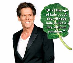 Kevin Bacon replace kale w/ or just add bacon