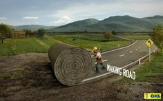 OHL Highway Concessions: Roll | Ads of the World™