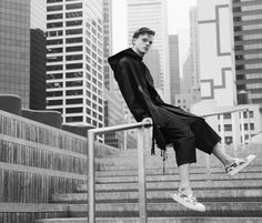 manniskorarkonstiga:    Reid Rohling wearing DbyD Spring/Summer 2016, photographed by Sinem Yazici and styled by Carlos Basora for Deux Hommes