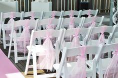 soft pink wedding ceremony. www.simones-styling.nl Ponton, Beachclub Sunrise, Aquabest ceremonie styling.