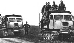 German Raupenschlepper, Ost (RSO/01)