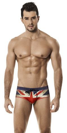Clever 0565 UK Flag Swimbrief