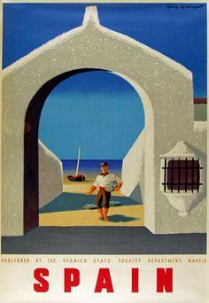 Vintage poster Spain