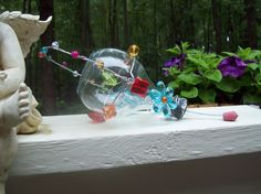 HUMMINGBIRD FEEDER on sale by Whimsicalmonica on Etsy, $19.99