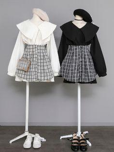 Fashion E Outfit - Product Kpop Fashion Outfits, Edgy Outfits, Korean Outfits, Pretty Outfits, Korean Girl Fashion, Ulzzang Fashion, Asian Fashion, Kawaii Fashion, Cute Fashion