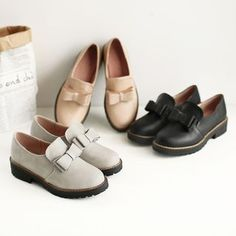 Buy Pangmama Bow-Accent Loafers at YesStyle.com! Quality products at remarkable…