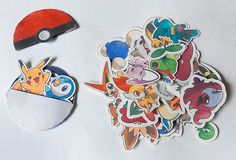 Pokemon Printables for the school holidays! Added another 5 page of pokemons!