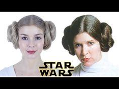Princess Leia Buns, Princess Leia Cosplay, Party Hairstyles For Girls, Cool Hairstyles, Hairdos, Leia Star Wars, Festival Hair, Halloween Disfraces, Hair Blog