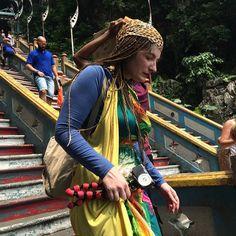 Many different people travel the world. #travel #interestingpeople #kualalumpur #malaysia #upsticksngo #travelgram