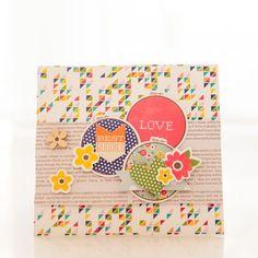 Love card by designer Evelyn Pratiwi Yusuf featuring Jillibean Soup Sew Sweet Sunshine Soup