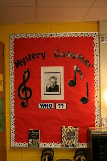 Hillary's Highlights: Confessions of a Music Teacher: Mystery Composer instead of Composer of the Month