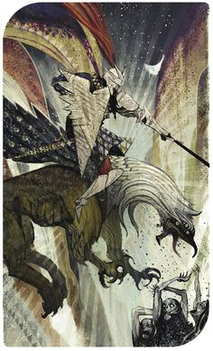 Dragon Age Inquisition Tarot - Blackwall