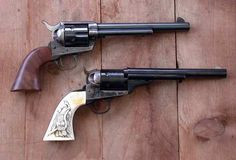 Cimarron Firearms Colt Open-Top By John Taffin By the time I was 17 I had acquired what I thought were the only two large- caliber, Cowboy Action Shooting, Shooting Guns, Cimarron Firearms, Single Action Revolvers, Guns Dont Kill People, Revolver Pistol, Lever Action Rifles, The Dark Tower, Fire Powers