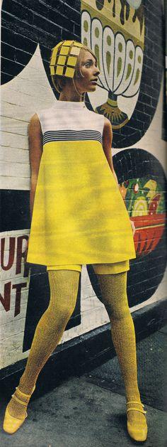 Cay Sanderson. Mademoiselle Nov 1967.
