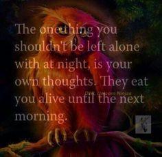 "The ""joy"" of being an insomniac..... Healing Wisdom"