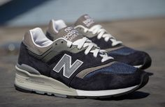 New Balance 997 'Navy & Grey' (Detailed Pictures)