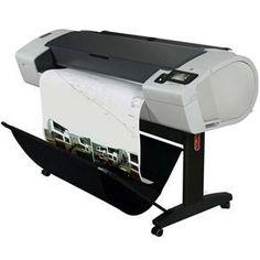 "Impressora Jato de Tinta HP DesignJet T790 PostScript 24"" ePrinter CR648A"