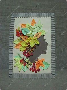Поделка изделие Праздник осени Бумагопластика Квиллинг Оригами  Золотая осень Много фотографий Бумага фото 1
