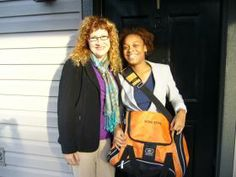 Echo Garrett and Gi'Nia Stone were interviewed on NPR Radio WABE 90.1 FM by Susan Mittelman to talk on @The Orange Duffel Bag Initiative and how we provide life-plan coaching course and ongoing advocacy to homeless youth and kids aging out of foster care. http://wabe.org/post/orange-duffel-bag