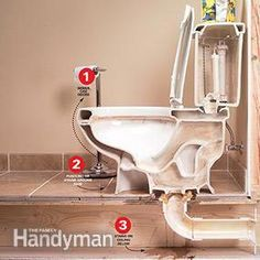 to Repair a Leaking Toilet How to Repair a Leaking Toilet. This site has hundreds of home maintenance how to instructions.How to Repair a Leaking Toilet. This site has hundreds of home maintenance how to instructions. Home Renovation, Home Remodeling, Leaking Toilet, Bathroom Repair, Toilet Repair, Home Fix, Septic System, Plumbing Fixtures, Plumbing Vent