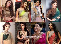 7ef7f6272ac583 Designer Blouse Patterns, Saree Blouse Patterns, Blouse Designs, Broad  Shoulders, India Fashion