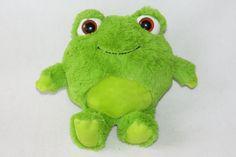 "Animal Adventure Frog Green Easter Brown Eye Round Plush 2014 Doll Baby Toy 10"" #AnimalAdventure"