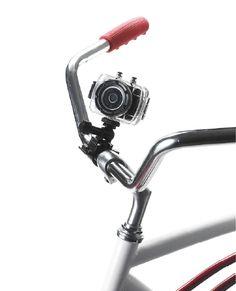"cool gadget for mobile lifestyle: ""Sharper Image"" Action Camera | smartphones & camera . Smartphones & Kameras . smartphones & caméras | @ sharper image | Photo: Business Wire |"