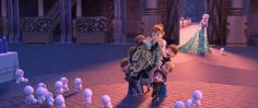 There are also some adorable snowbabies. | A New #FrozenFever Trailer Features A New Song, Snowbabies, & Lots Of Cake