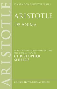 The Clarendon Aristotle Series is designed for both students and professionals. It provides accurate translations of selected Aristotelian texts, accompanied by incisive commentaries that focus on philosophical problems and issues, The volumes in the series have been widely welcomed and favourably reviewed.
