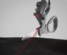 Ciseaux à visée Laser- 18€