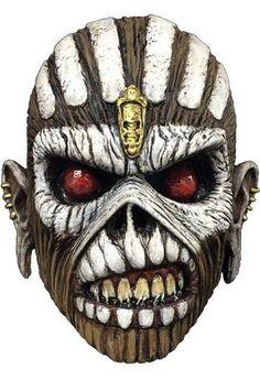 Trick or Treat Studios Iron Maiden Eddie The Book Of Souls Mask Costume TTGM110