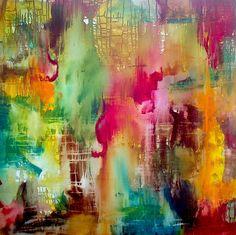 deviantART Shop Framed Wall Art Prints & Canvas | Traditional Art | Paintings | red/green by artist ~tinakeriksen