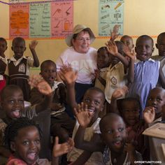 Caterpillar Foundation President Michele Sullivan visits Maryhill School in Uganda to see firsthand the impact of her organization's 20-year partnership with Opportunity International. The partnership funds loans that help outfit classrooms with desks, supply students with textbooks and allow more parents to send their children to school. #impact #philanthropy #foundation