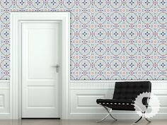 "Swag Paper Tiles Wallpaper Panels, $56.25 (for 25"" panel) - Swag Paper"