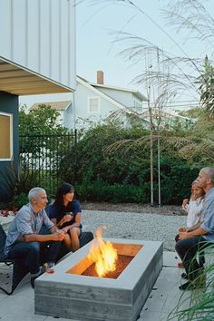 California isn't known for its front porch culture, but Eric Grunbaum loves Venice's walk streets and their pedestrian vibe, so he employed landscape designer Stephanie Bartron to orient his small patio towards the street. The house itself acts as a windbreak, and lush patio furniture and a small fire pit turn what could have been another exercise in backyard solipsism into the home's most neighborly spot.