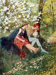 'Fairy Tales For Adults' by Jean Qui Rit, illustrated by Artuš Scheiner (1925).