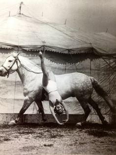 Gracie Hanneford 1937. From the Hanneford Circus family I assume.
