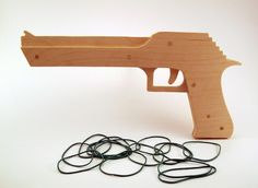 The Big 6 Rubber Band Gun 6-shot by TheWoodScribe321 on Etsy