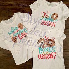 Girl Scout Cooke Season TShirts Cookies by SweetTeaSpecialties