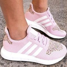 buy popular d0720 209f5 adidas Swift Run Shoes - Pink - Stylish Sneakers