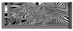Dynamic Black And White Yoga Mat featuring the digital art Etihwdnakcalb by Douglas Christian Larsen
