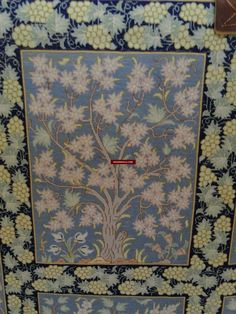 "Fine Antiques & Art from WOVENSOULS - Singapore  437 Silk Qum Rug - High Knot Count - Signed by masterweaver Masumi  Signed by the famous masterweaver Masumi Beautifully drawn Garden of Eden drawing - with trees intertwining sensuously. This is created as a work of wall art rather than a carpet or rug. Extremely dense weaving. Size: 30 inches x 46 inches. ** ""One of the most high-quality hand silk-Woven Silk-workshop. The dyes and color combinations iare the speciality of this high quality…"