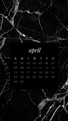 Iphone Marble Wallpaper / Calendar / April 2018 (Layout by @lovejuliethai) #INSTAGRAM #IPHONE #INSTAGRAMINSPIRATION #STORYTEMPLATES #CALENDAR #STORYTEMPS #FASHION #BLOGGER #INSTAGRAMBLOGGER #DESIGN #MINIMAL #MONOCHROME #MARBLE #2018