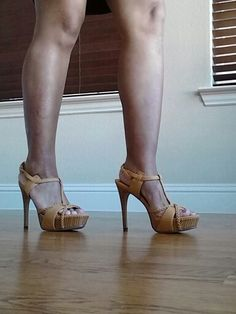 Bought this high heel from justfab thought is cute. Never wear once, what your think should I?